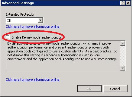 Outlook prompting credentials after server restart